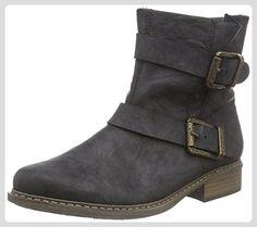 Rieker Z4172, Damen Halbschaft Stiefel, Schwarz (schwarz/00), 40 EU (6.5 Damen UK) - Stiefel für frauen (*Partner-Link)