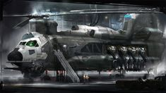 concept ships: Concept ship art by Al Crutchley Spaceship Art, Spaceship Concept, Concept Ships, Concept Cars, Spaceship Design, Military Helicopter, Military Aircraft, Cyberpunk, Concept Art World