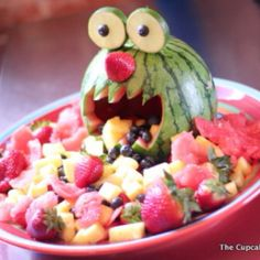 Watermelon monster!!