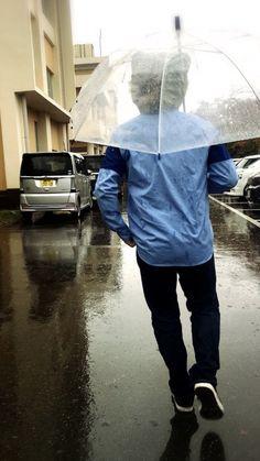 雨と傘とタナパイ