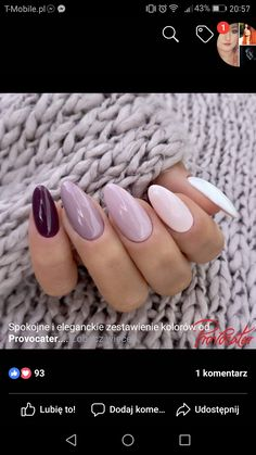8 Magnificent Growing Nails Faster In A - Natural Nails- Growing Nails Faster In A . 8 Magnificent Growing Nails Faster In A . Pin De Johanna Jimenez En U±as En 2020 - Elegant Nails, Classy Nails, Simple Nails, Trendy Nails, Get Nails, Aycrlic Nails, Love Nails, Hair And Nails, Coffin Nails