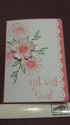 S U Flower shop get well card.