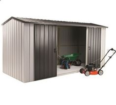 Duratuf Kiwi MK4 Garden Shed. The Kiwi MK4 is 4.210m wide x 1.715m deep and is a great storage shed or Work shop. The Duratuf MK4 is NZ made from 0.4 gauge high tensile steel, features full internal timber framing, double sliding doors, an 18 year warranty and is also fully customisable!
