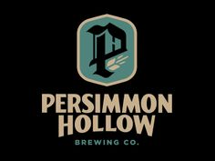 Persimmon Hollow Brewing Co., logo by Clark Orr