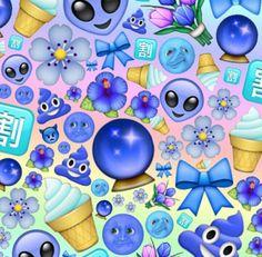 blue light/dark emoji edit