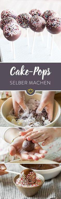 """""""Aber warum backst du denn nicht einfach einen normalen Kuchen?"""" – der Großteil der männlichen Kollegen konnte zunächst einfach nicht verstehen, warum ich Kuchen in alle möglichen entzückenden Formen presse und auf Stiele stecke. Mussten sie auch nicht. Denn ein Biss genügte um sie zum Schweigen zu bringen. Cake Pops!"""
