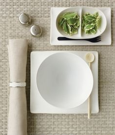 A beautiful table setting using entrepo products