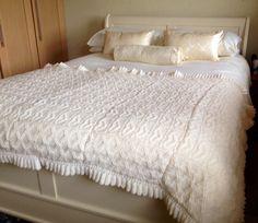 Handmade knited blanket