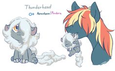 Thunderhead by Lopoddity oh my goodness i love this pairing but i also like the pancake ship though :)