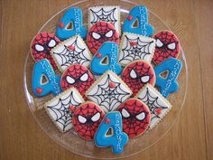 Galletas de Spider-man