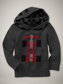 hooded racecar sweater [roman getaway - gap]
