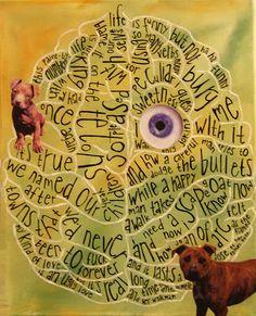 kunst, kanskje?: februar 2008 The Lovely Bones, Thats Not My, Blood, Art, February, Kunst, Art Background, Performing Arts, Art Education Resources