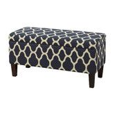 Found it at Wayfair - Christina Upholstered Storage Ottoman