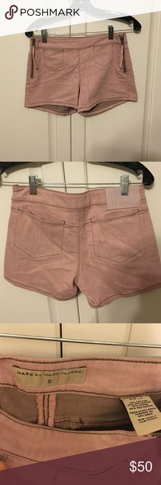 Selling this NWT MARC by Marc Jacobs high-waisted shorts size 0 on Poshmark! My username is: emcg25. #shopmycloset #poshmark #fashion #shopping #style #forsale #Marc by Marc Jacobs #Pants