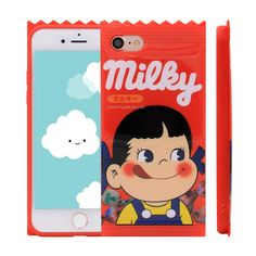 iPhone 7 Case, MC Fashion Cute 3D Japan Peko Milky Classic Candy Phone Case Cover for Apple iPhone 7 (2016) Release (Milky Candy-Girl). Compatible with Apple iPhone 7 2016 release. Ultra soft and flexible TPU case with super cute 3D candy design. Protects you from unnecessary bumps, dents, and scratches. Easy grip gives you comfortable feeling. Quick and easy access to ports and buttons,fits your iPhone 7 like a glove.