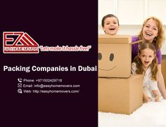 Easy home movers is a professional and experienced Packing Company in Dubai.