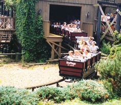 River King Mine Train at Six Flags St. Louis