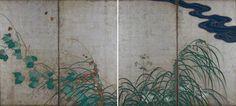 酒井抱一《夏秋草図屏風》江戸の風趣──「岡野智子」:アート・アーカイブ探求|美術館・アート情報 artscape