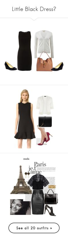 """""""Little Black Dress?"""" by jayne3944 ❤ liked on Polyvore featuring ELLIOTT LAUREN, Michael Kors, Tory Burch, Isaac Mizrahi, Victoria, Victoria Beckham, Dorothy Perkins, Mulberry, New Look, Barbara Casasola and SLY 010"""