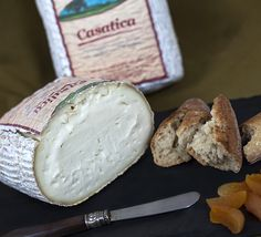 Casatica di Bufalo is a soft, fresh (just aged three to five weeks) cheese which is rich, mild and delicately sweet.  Serve it at room temperature and you'll discover its creamy center, which you won't be able to resist.  We suggest you eat it with a salty cracker, for contrast, before your meal and you'll get the full flavor of this luxurious cheese made in the Italian Alpine foothills.