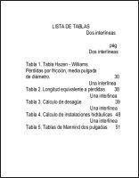 4Lista de tablas