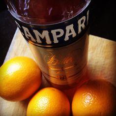 Sábado despejado primaveral ideal para un #campariofficial con naranja