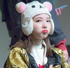Kpop Girl Bands, Twice Korean, Fluffy Bunny, Nayeon Twice, Im Nayeon, Dahyun, Cute Bunny, Kpop Girls, Winter Hats