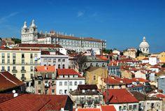 The Alfama, Lisbon's oldest quarter.