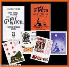 Metaphysical Gypsy Tarot Telling Card Deck | Gypsy Witch Fortune Telling Playing…