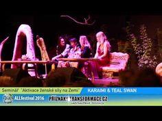 Společný seminář Teal Swan a Karaimi na festivalu Alchymistické Litoměřice