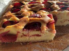 Κέικ με δαμάσκηνα Sweets Cake, Food Processor Recipes, Waffles, Biscuits, Birthday Parties, Cheesecake, Birthdays, Pie, Snacks