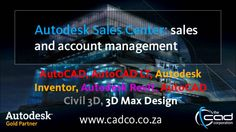 The CAD Corporation is a Autodesk Gold Partner and is the first choice partner for AutoCAD/Autodesk Software Sales, Support & Training in South Africa. Autodesk Software, Autocad 2014, Autocad Civil, Software Sales, Autodesk Inventor, 3d Max, South Africa, Engineering, Construction
