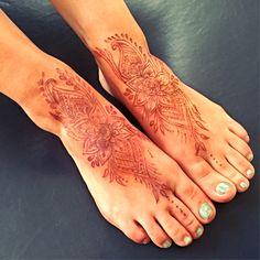 Permanent Henna Tattoo  Created by Mary Kearns  The Eye of Henna