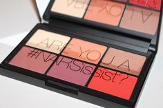 This is an absolute favourite for me! Here's a look at the NARS NARSissist Unfiltered I Cheek Palette which is also great for eyes. Photos & swatches.