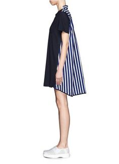 """Stripe back T-shirt dress"" https://sumally.com/p/1306956"