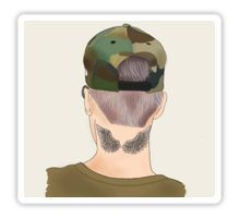 Justin Bieber Drawing Phone Case Sticker