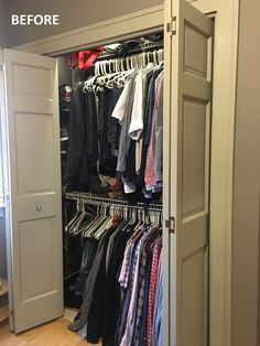 California Closets Southdale Before After