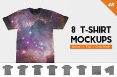 T-Shirt Mockups by Photific on Envato Elements