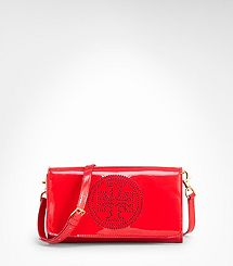 Perforated Logo Clutch matches the red reva flats i own