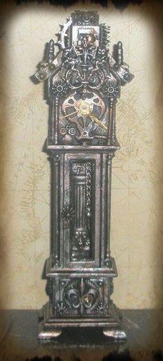 Miniature Steampunk Clock | ...