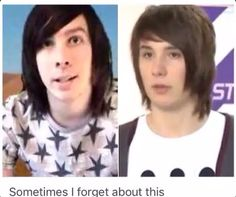 Dan and Phil>>> who says we should get a petition going for them to grow their hare out for like a month and a half