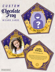 For any Harry Potter fan that has ever dreamed of being featured on a custom chocolate frog wizard card. #ad #harrypotter #harrypotterfan #potterparty #wizardcard #chocolatefrog #personalized #custom #etsy