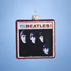 "3.25""MEET #THEBEATLES ALBUM COVER ITEM # BE4144 #beatlesornaments"