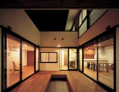 Core Styleの部屋 中庭