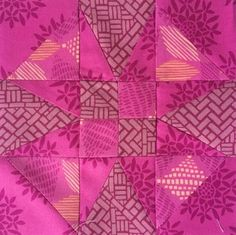 Create a star block that embodies all things feminine and flirty with this Judy Star Block Tutorial. Inspired by icon Judy Garland, this star block tutorial shows you how to piece together a slightly more complicated star using the triangle-in-a-squa Quilting Tutorials, Quilting Projects, Quilting Designs, Sewing Projects, Sewing Ideas, Quilt Block Patterns, Pattern Blocks, Watercolor Quilt, Farmers Wife Quilt