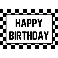 Roary The Racing Car Happy Birthday Banner Happy Birthday