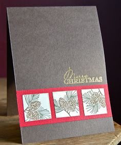 Stampin' Up ideas and supplies from Vicky at Crafting Clare's Paper Moments: Christmas