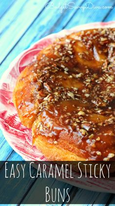 BEST Sticky Buns EVER!!! You will not believe HOW Easy This Recipe Is!!! Your family will request it again and again. Done in under 30 minutes. Perfect for a beginning cook. Easy Caramel Sticky Buns Recipe #breakfast #buns #stickybuns #caramel #easy #recipe #pecans #budgetsavvydiva via budgetsavvydiva.com