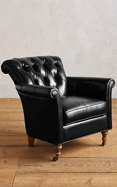 Leather Gwinnette Chair #anthrofave