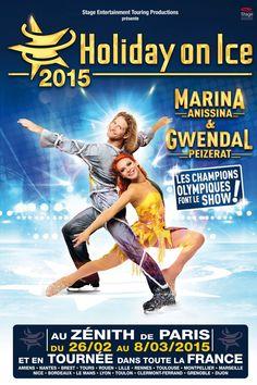Le couple mythique du patinage artistique, Gwendal Peizerat et Marina Anissina, se produira à Paris pour notre plus grand plaisir !